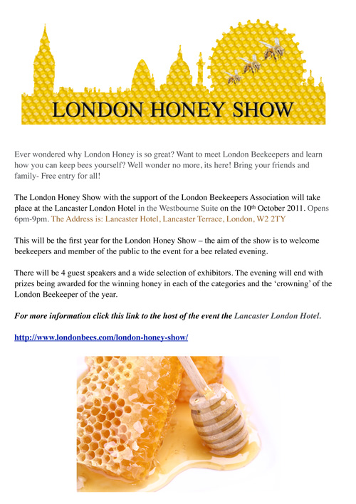 The London Honey Show