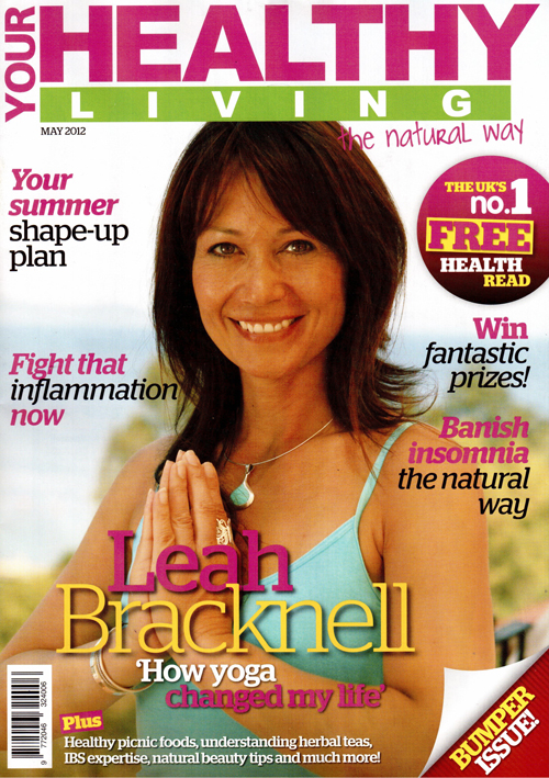 Your Healthy Living Magazine-cover