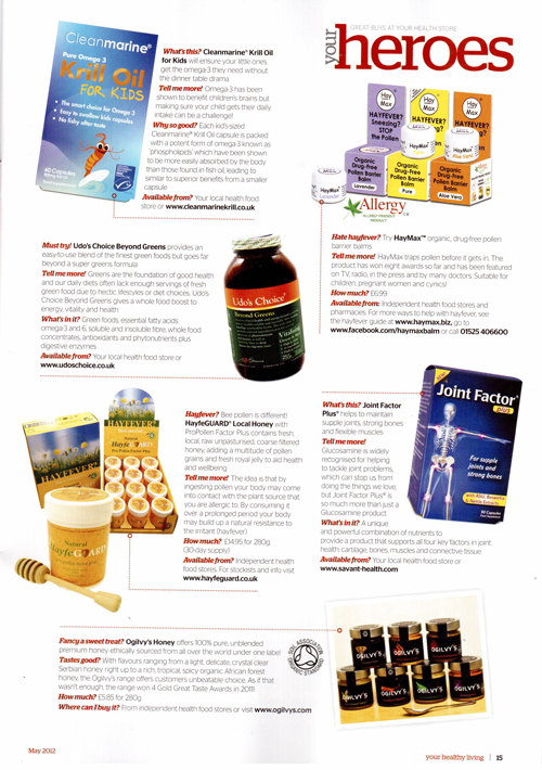 Your Healthy Living Magazine- HayfeGUARD