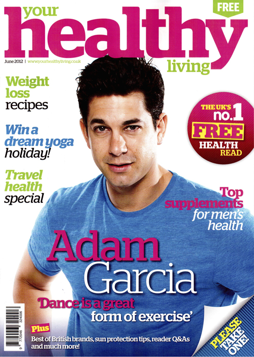 Your Healthy Living Mag June 2012, cover