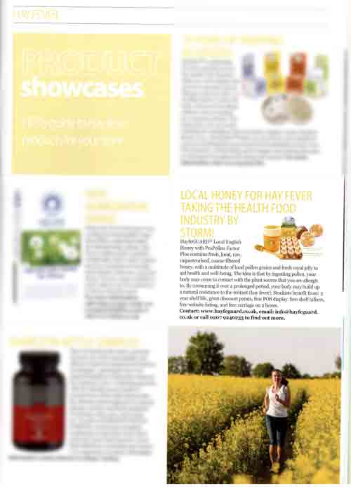 Health Food Business- March 2015- ad