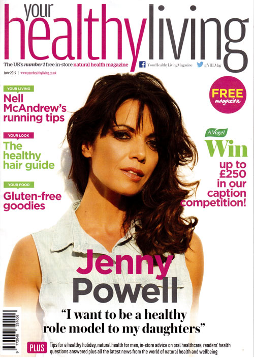 Your Healthy Living June 2015- cover